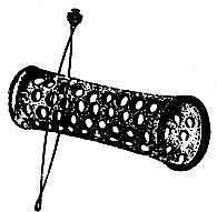 Рис. 67. Прием использования специальной шпильки для фиксирования бигуди