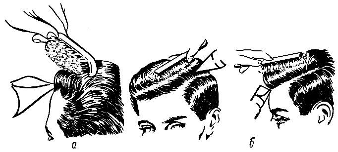 Укладка волос феном мужчинам
