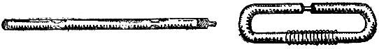 Рис. 45. Коклюшки из резиновой трубки